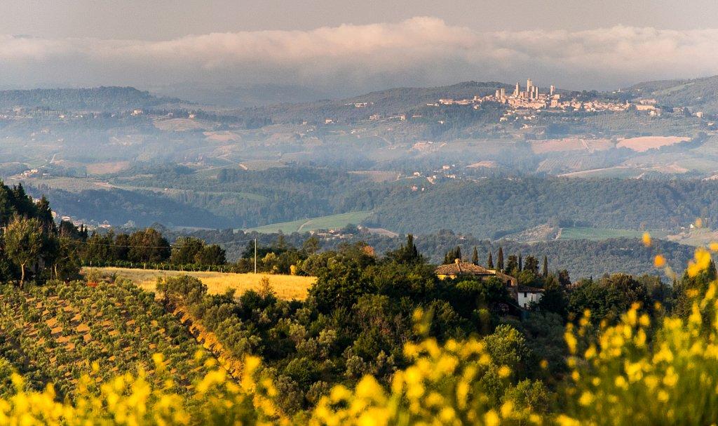Monti del Chianti (Chianti-Berge)