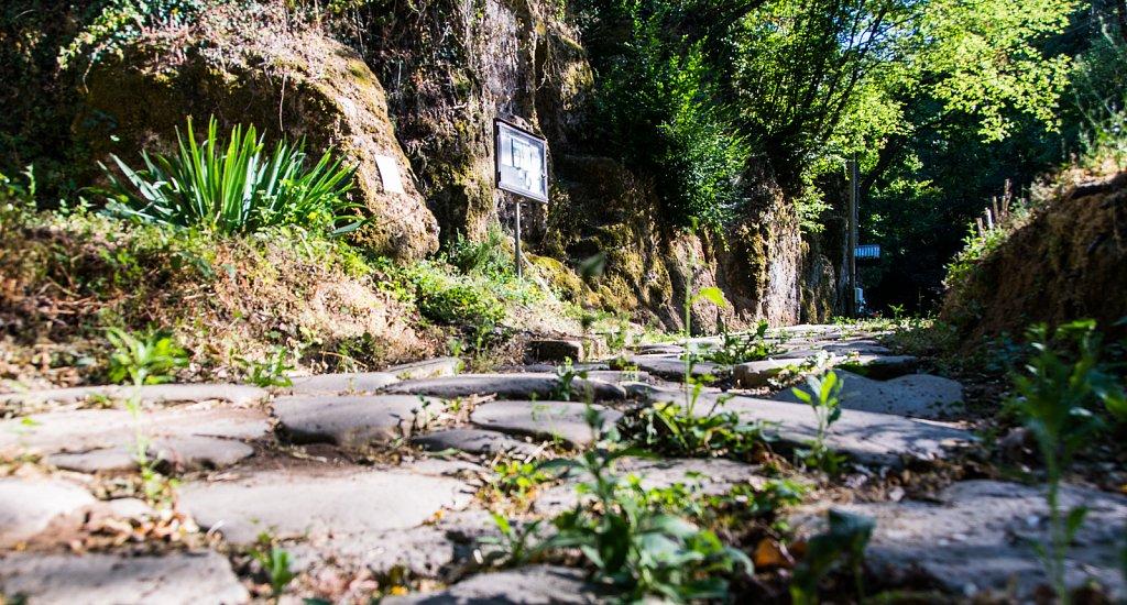 Reste der römischen Via Amerina