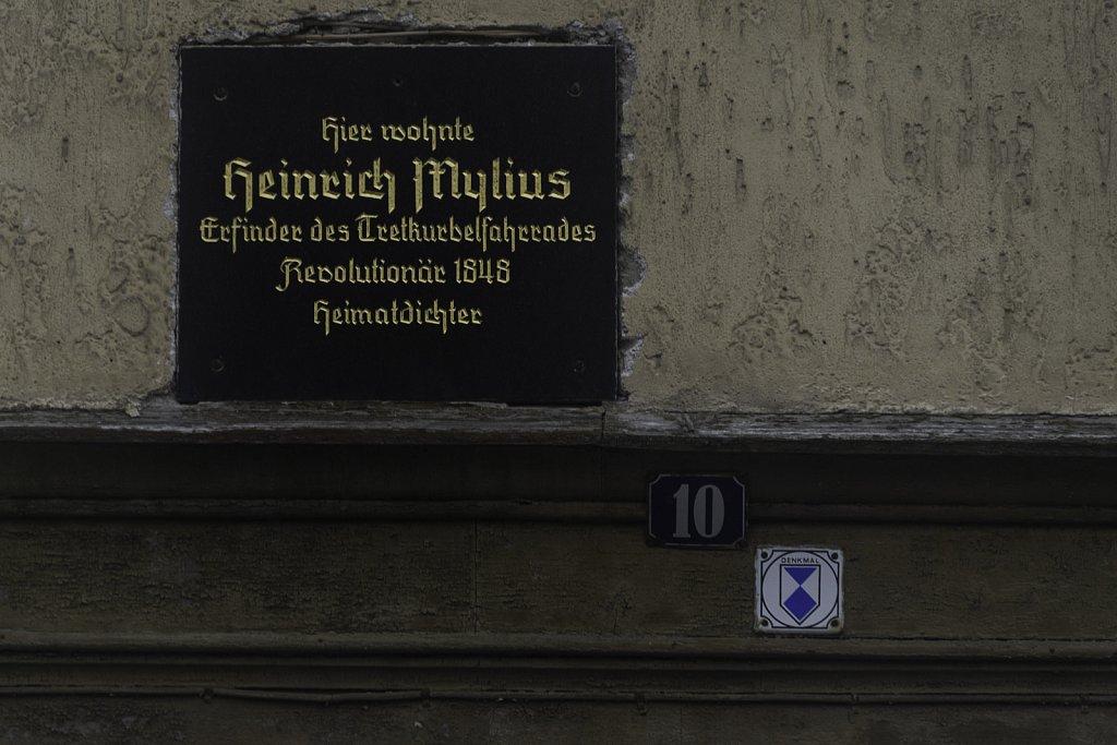 Fahrradpionier und Revolutionär Heinrich Mylius