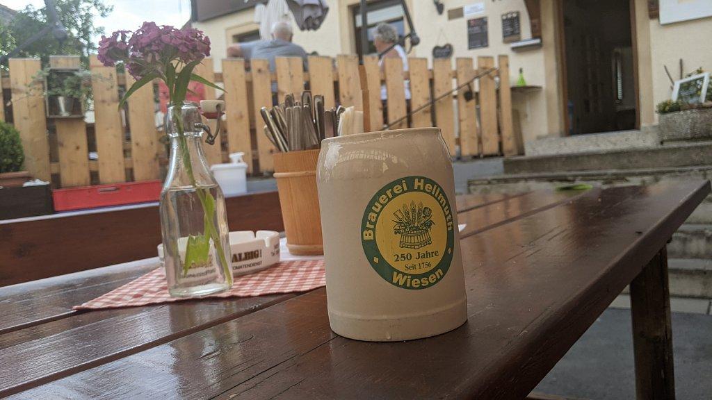 Brauerei Hellmuth in Wiesen