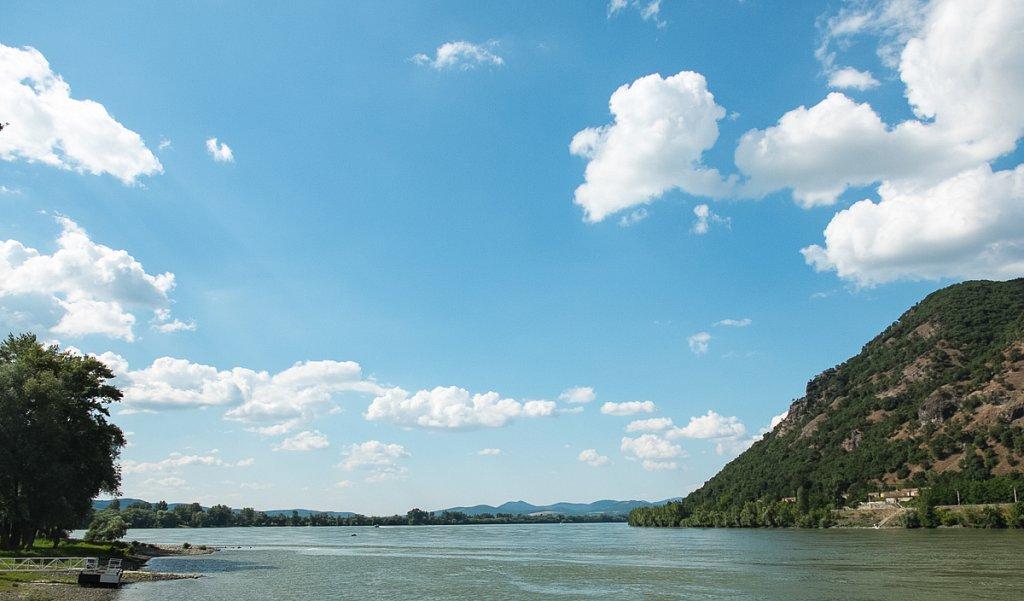 Auf dem Donau-Radweg