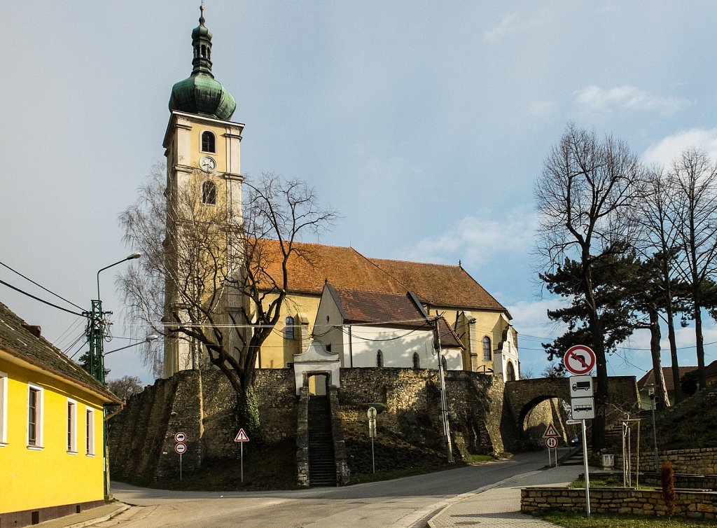 Wehrkirche in Čachtice