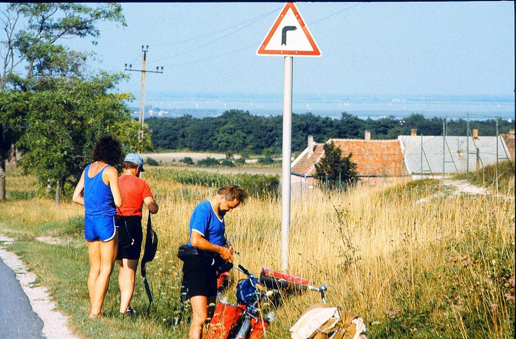 1989: Vom Balaton nach Hause