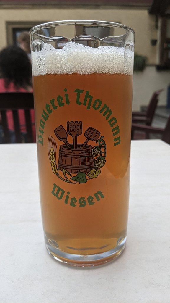 Brauerei Thomann in Wiesen