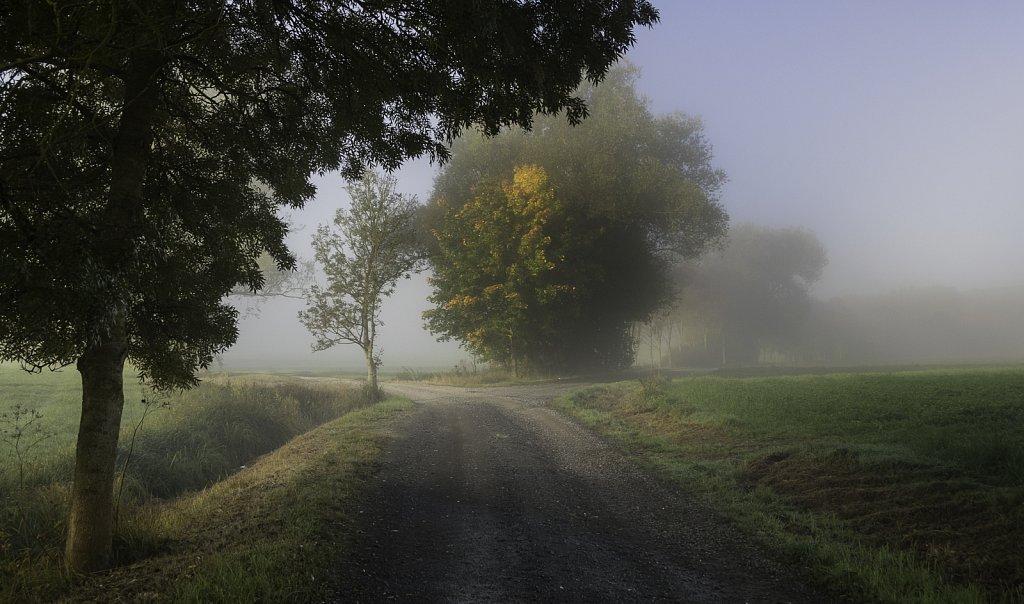 Gemarkung Bibra im Herbst